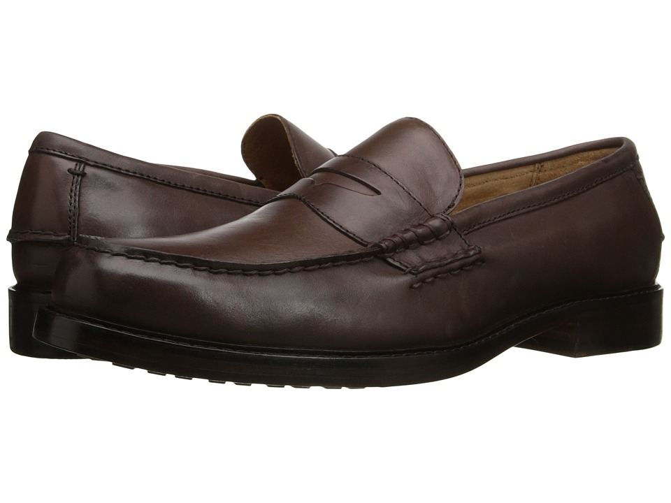 Polo Ralph Lauren - Dustan (Dark Brown) Men's 1-2 inch heel Shoes