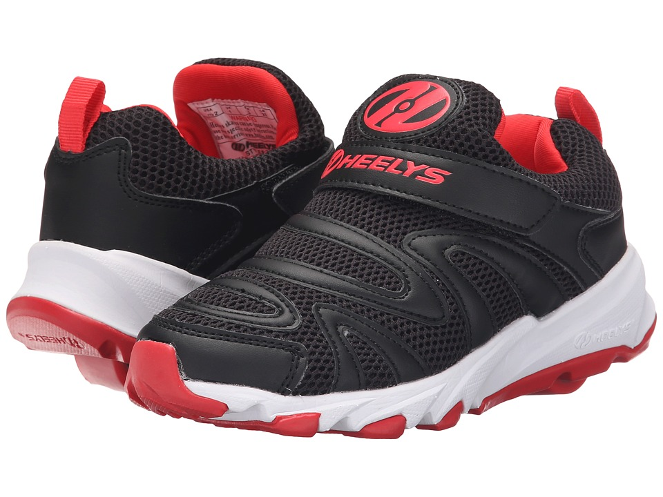 Heelys - Rapido (Little Kid/Big Kid/Adult) (Black/Red) Boys Shoes