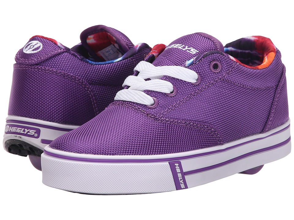 Heelys - Launch (Little Kid/Big Kid/Adult) (Purple/Printed Lining) Girls Shoes