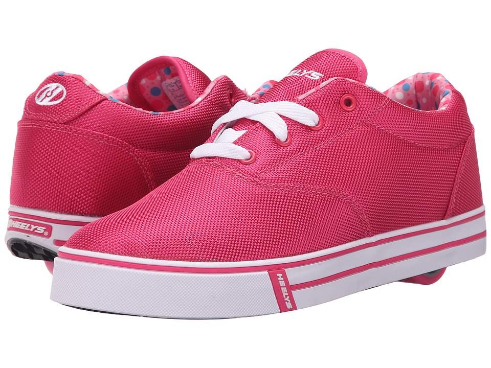Heelys - Launch (Little Kid/Big Kid/Adult) (Fuchsia/Printed Lining) Girls Shoes