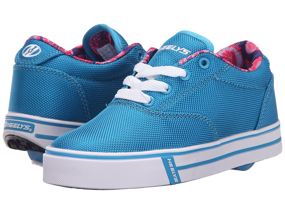 Heelys - Launch (Little Kid/Big Kid/Adult) (Ocean Blue/Printed Line) Girls Shoes