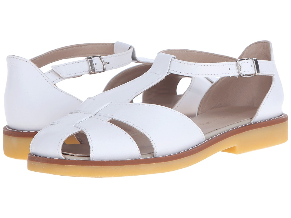 Elephantito - Eli Sandal (Toddler/Little Kid/Big Kid) (White) Girls Shoes