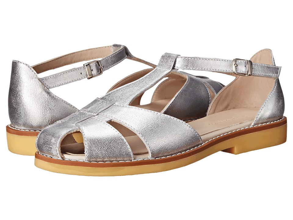 Elephantito - Eli Sandal (Toddler/Little Kid/Big Kid) (Metallic Silver) Girls Shoes