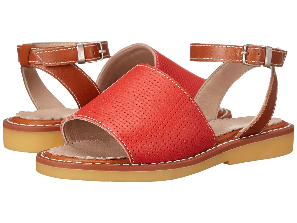Elephantito - Olivia Sandal (Toddler/Little Kid/Big Kid) (Perforated L. Red) Girls Shoes