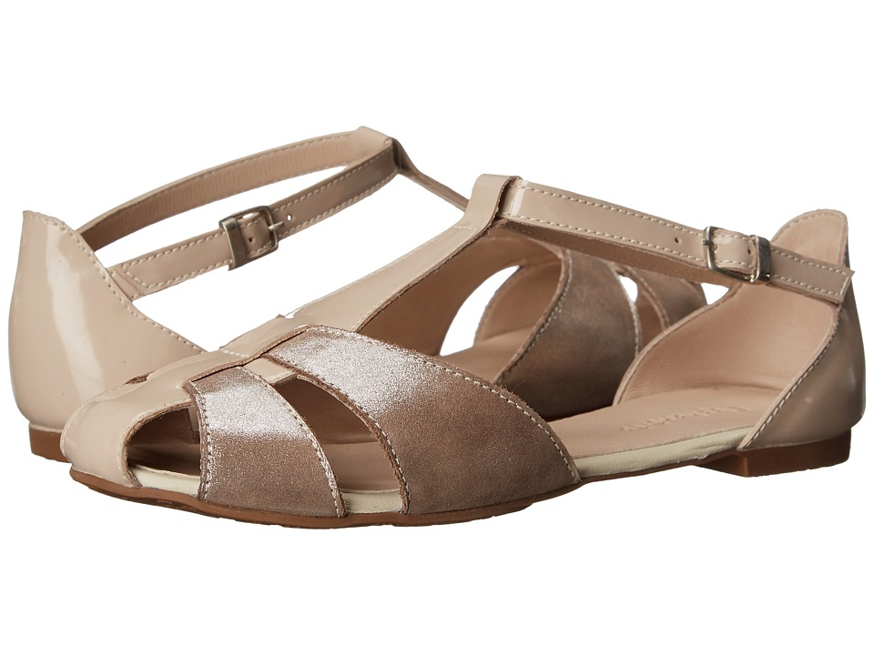 Elephantito - Sophie Metallic Sandal (Toddler/Little Kid/Big Kid) (Suede Blush) Girls Shoes