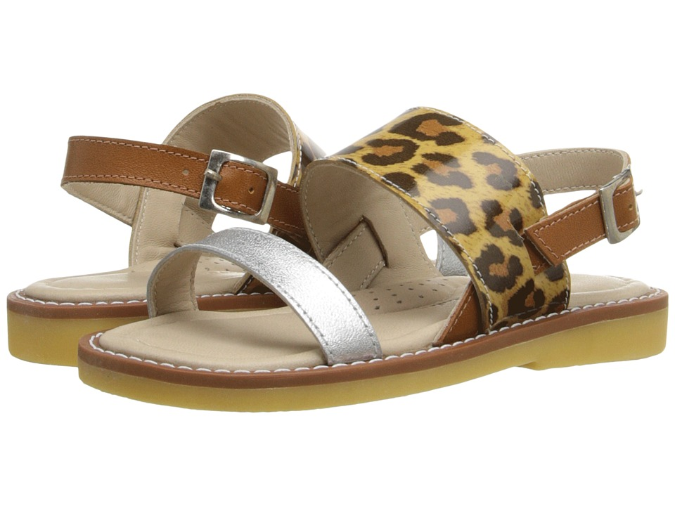 Elephantito - Mikonos Sandal (Toddler/Little Kid/Big Kid) (Metallic Leopard) Girls Shoes