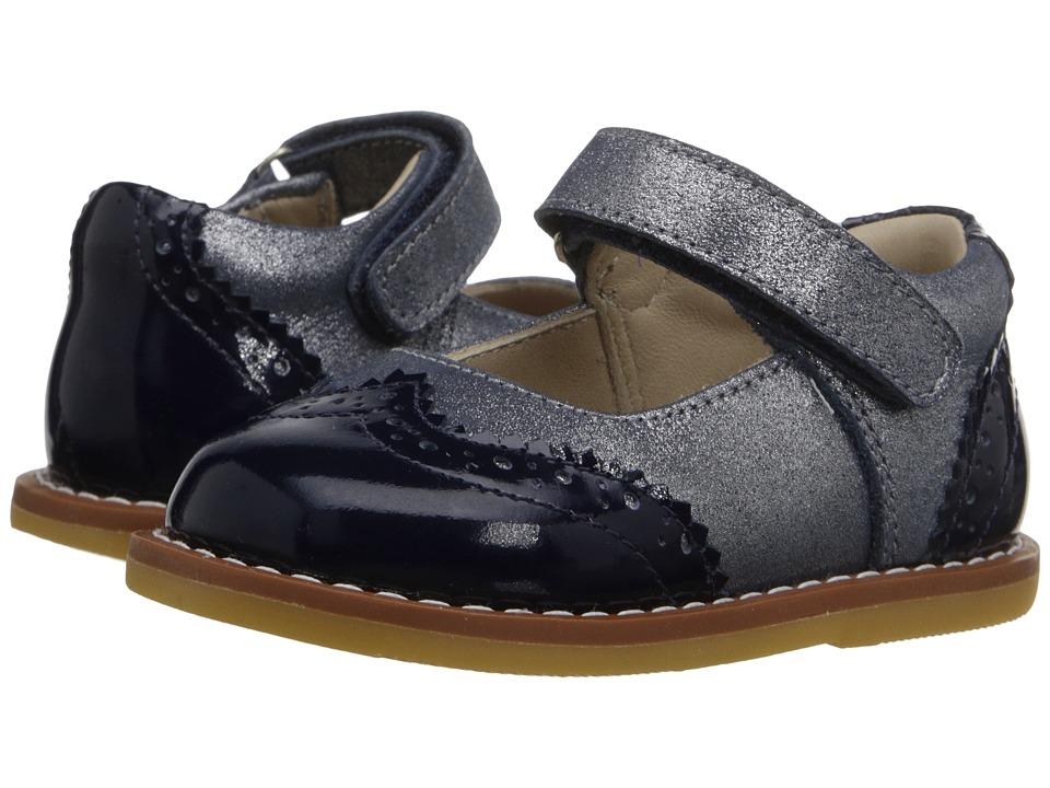 Elephantito Spectator Mary Jane (Infant/Toddler) (PTN Blue) Girls Shoes