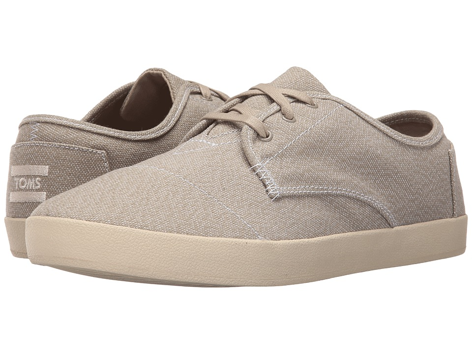 TOMS - Paseo (Oxford Tan/White Woven) Men's Lace up casual Shoes