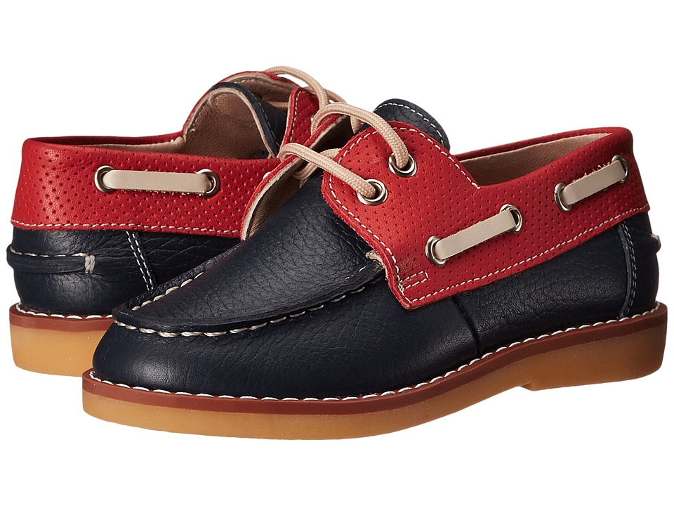 Elephantito - Boat Shoes (Toddler/Little Kid/Big Kid) (Leather Blue) Boy's Shoes