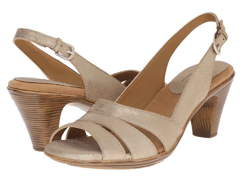 Comfortiva - Neima - Soft Spots (Gold) Women's Dress Sandals