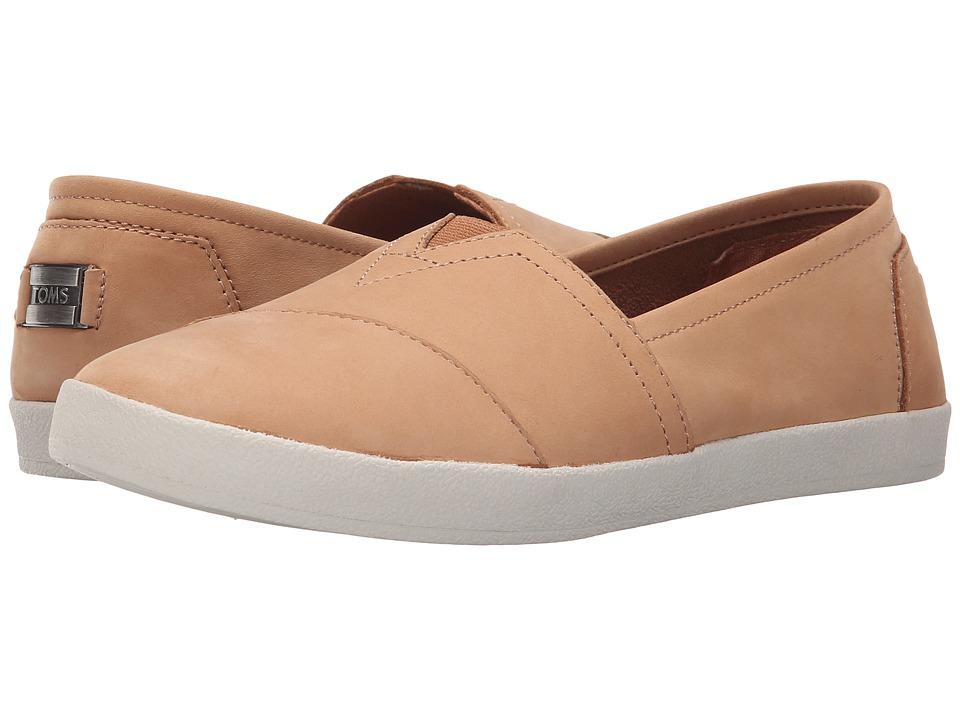 TOMS - Avalon Slip-On (Sandstorm Nubuck) Women's Slip on Shoes