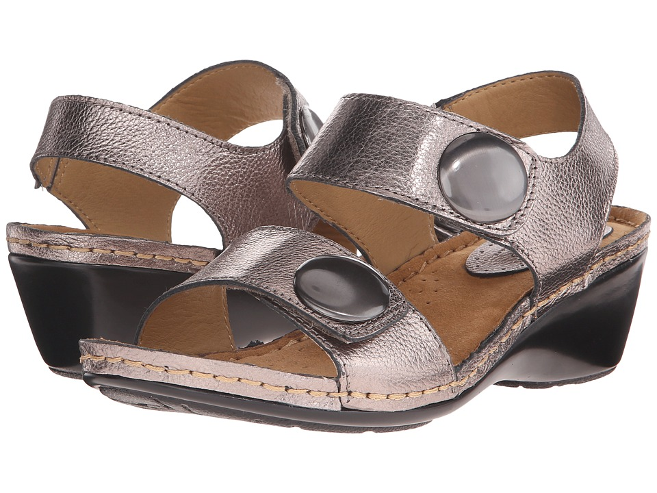Comfortiva - Pamela - Soft Spots (Anthracite) Women's Sandals