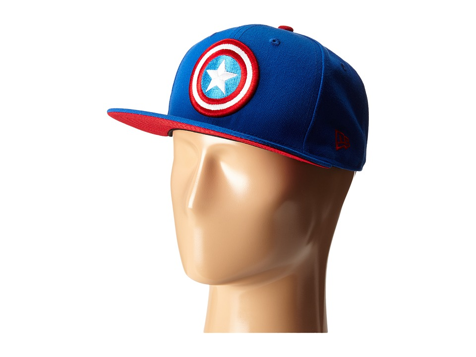 New Era - Side Crest Captain America (Blue) Caps