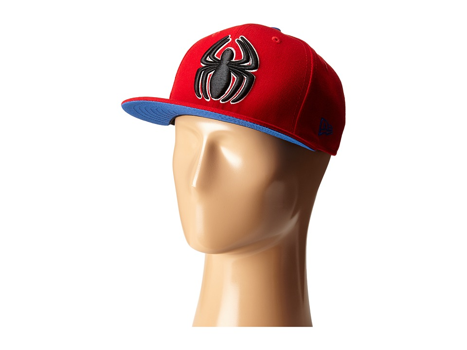 New Era - Side Crest Spiderman (Red) Caps