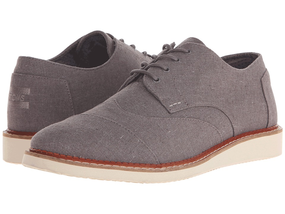 TOMS - Brogue (Grey Chambray) Men's Lace up casual Shoes