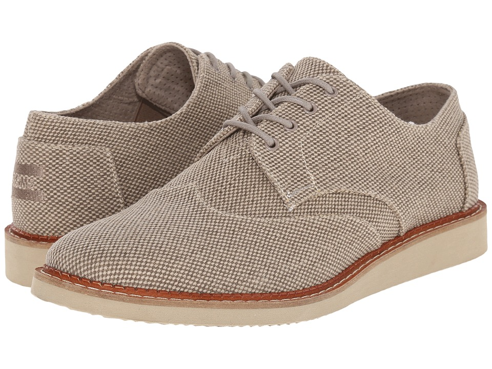 TOMS - Brogue (Desert Taupe Farren) Men's Lace up casual Shoes