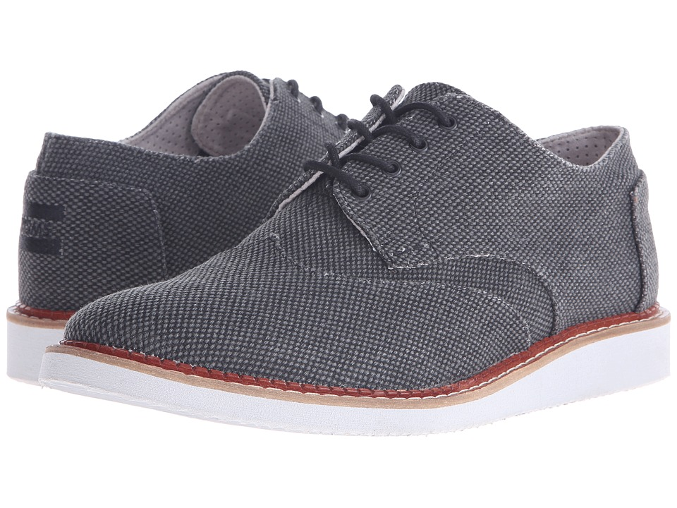 TOMS Brogue Black Farren Mens Lace up casual Shoes