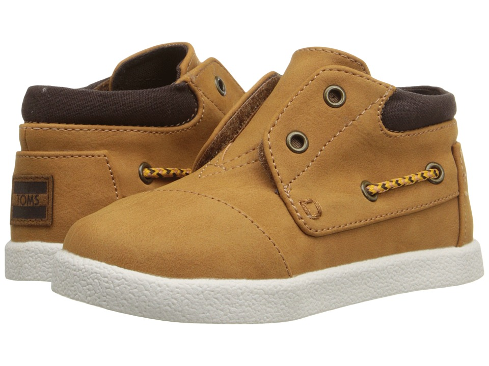 TOMS Kids - Bimini High Sneaker (Infant/Toddler/Little Kid) (Wheat Nubuck) Kids Shoes