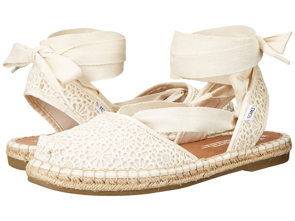 TOMS - Bella Espadrille (Natural Moroccan Crochet) Women's Shoes