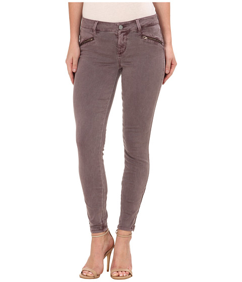 Level 99 - Riley Skinny Moto w/ Ankle Zippers in Ashy Rose (Ashy Rose) Women's Jeans