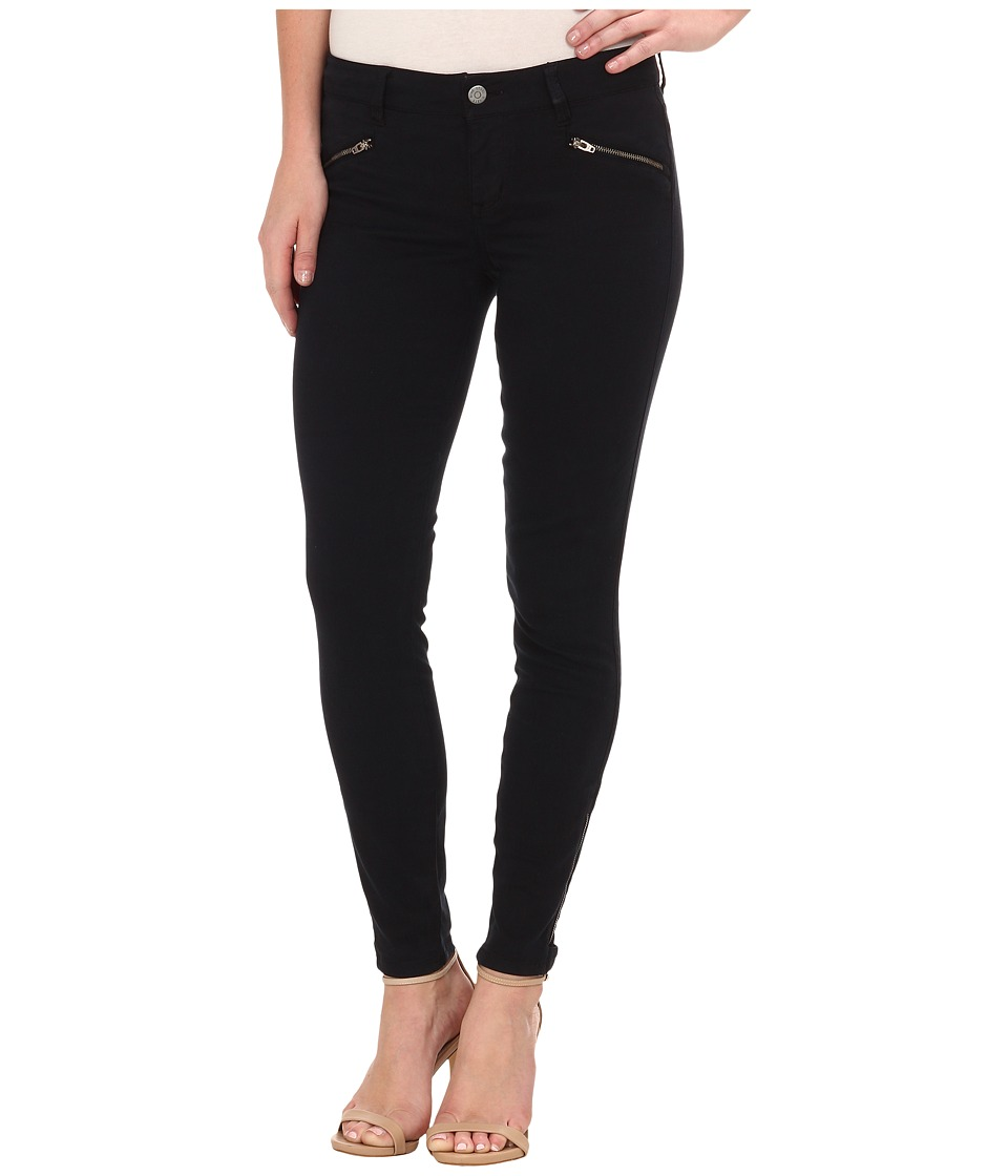 Level 99 - Riley Skinny Moto w/ Ankle Zippers in Ink00 (Ink00) Women's Jeans