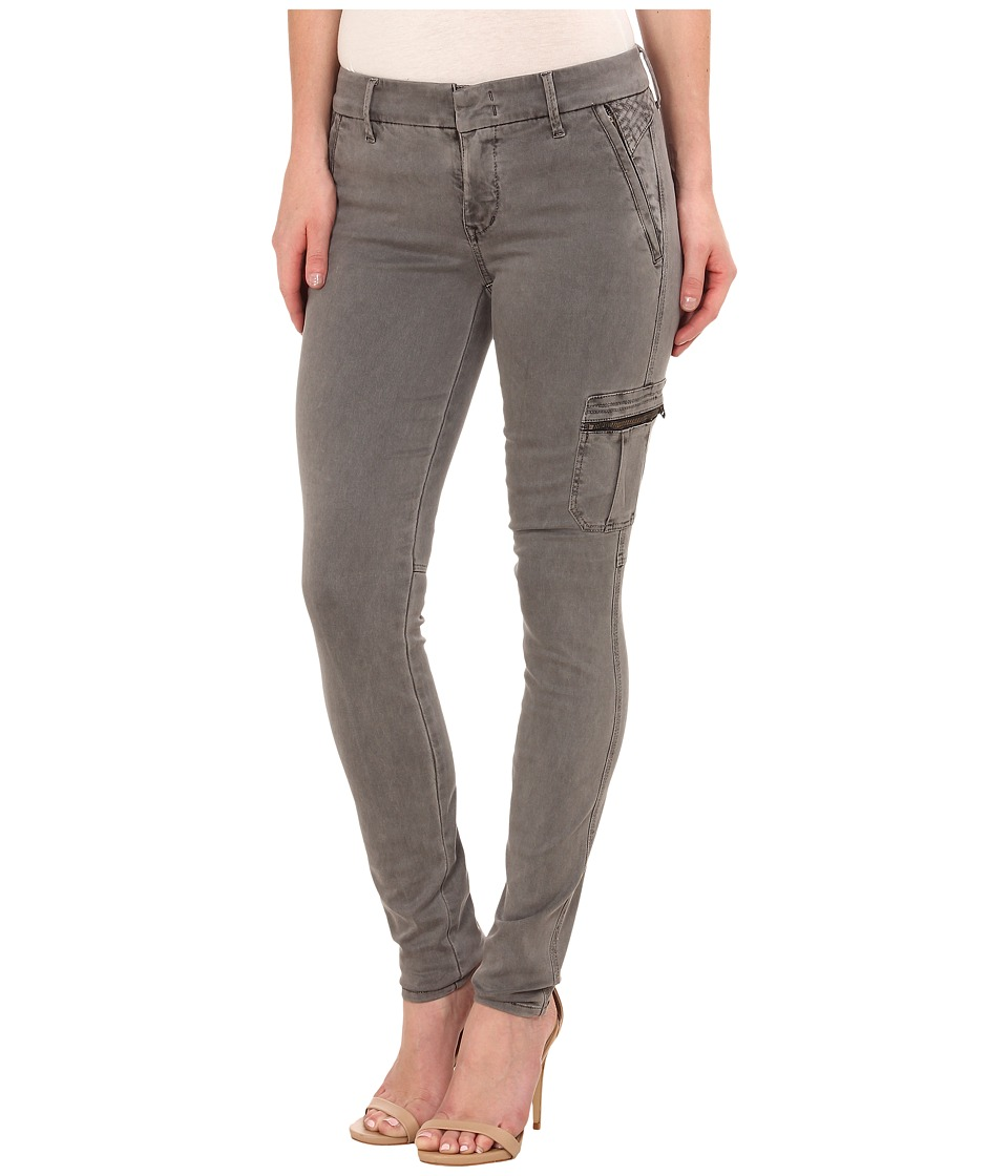 Level 99 - Liza Mid Rise Skinny Trousers in Grassy Grey (Grassy Grey) Women's Jeans