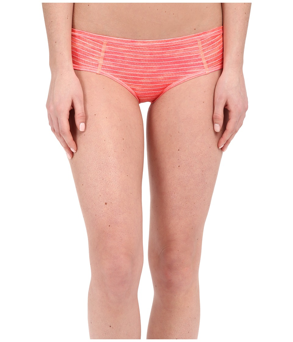 adidas - climacool Cheekster (Macro Heather Stripe Sun Glow/White) Women's Underwear