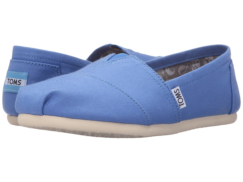 TOMS - Seasonal Classics (Regatta Blue Canvas) Women's Slip on Shoes