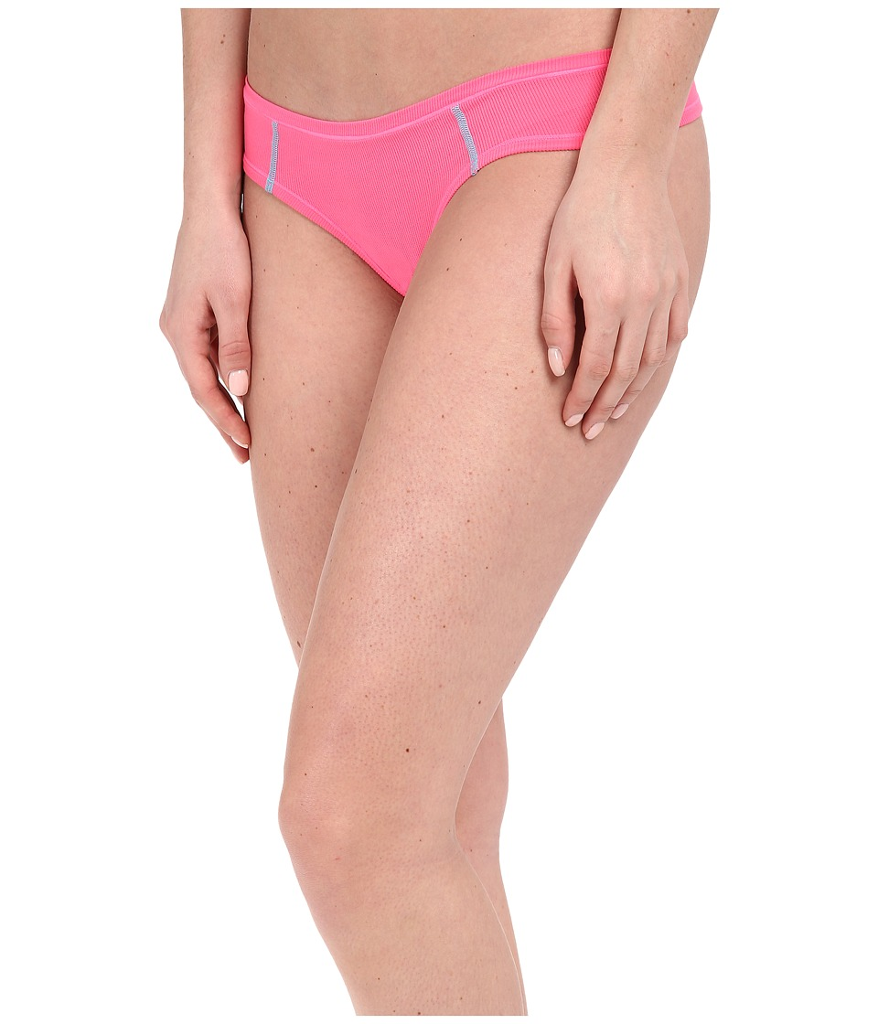 adidas - climacool Thong (Solar Pink/Bright Cyan) Women's Underwear