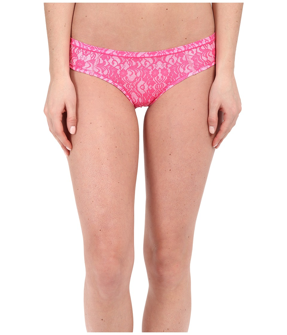 adidas - climacool Thong (Lace Shock Pink/Pink Glow) Women's Underwear