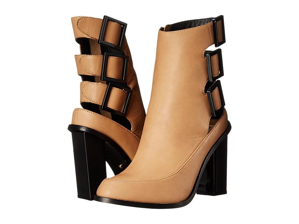 Kat Maconie - Petra (Tan) Women's Zip Boots