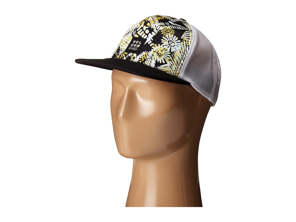 Volcom - Talk Trucker (Black) Caps
