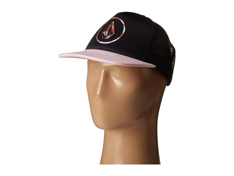 Volcom - Talk Trucker (Blush Pink) Caps
