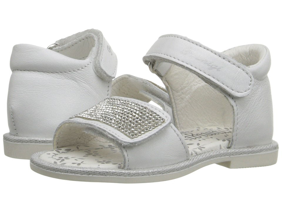 Primigi Kids - Dulcinia (Toddler) (White) Girls Shoes