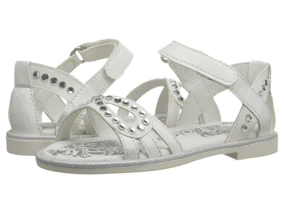 Primigi Kids - Abby (Toddler/Little Kid) (White) Girls Shoes