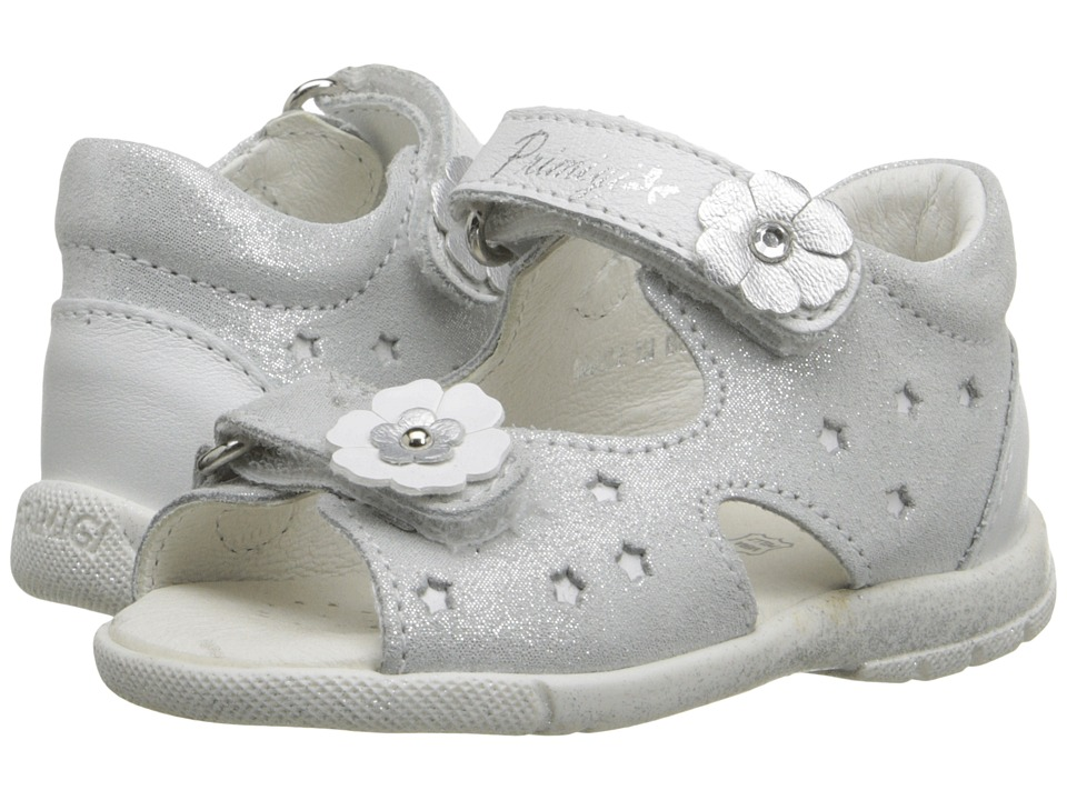 Primigi Kids - Pedra (Infant/Toddler) (Silver) Girls Shoes