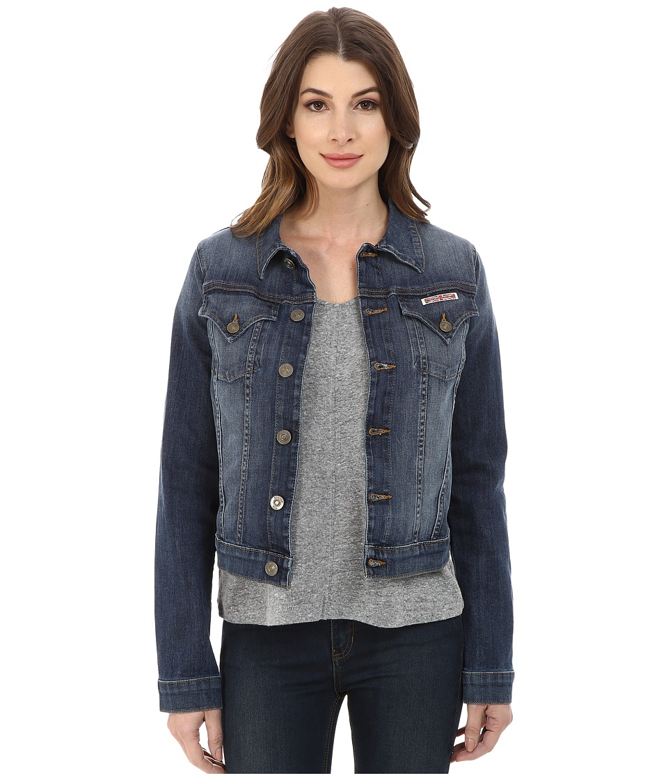 Hudson - Signature Jean Jacket in Tambourine (Tambourine) Women's Jacket
