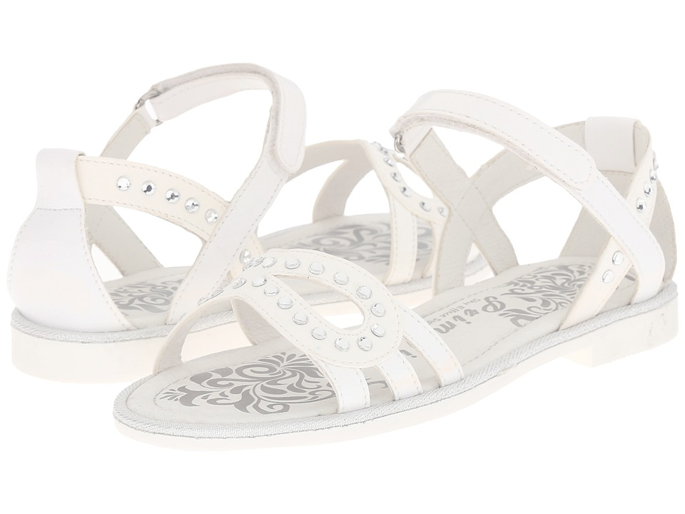 Primigi Kids - Abby (Little Kid) (White) Girls Shoes