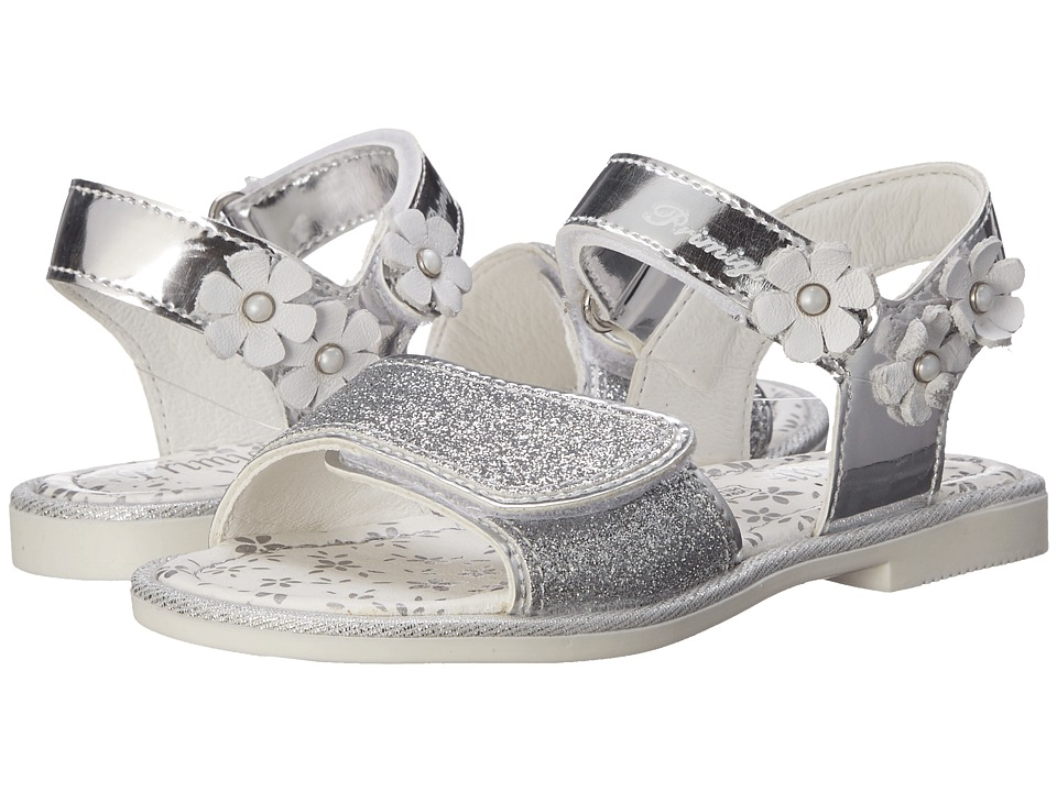 Primigi Kids - Carmelita (Toddler/Little Kid) (Silver) Girls Shoes