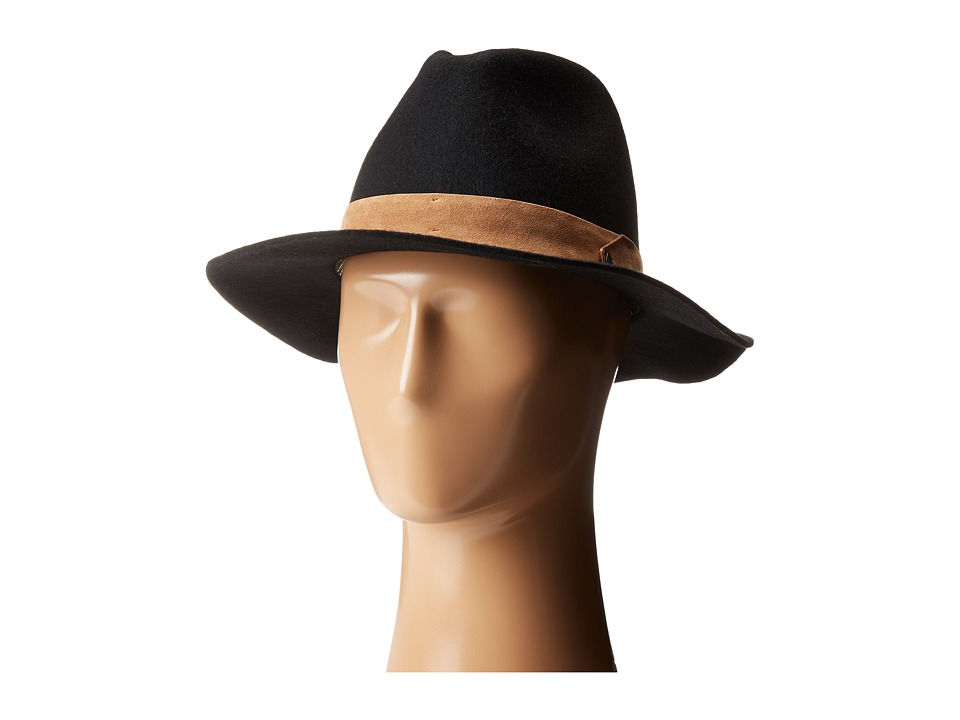 Volcom - Magic Touch Fedora (Black) Fedora Hats