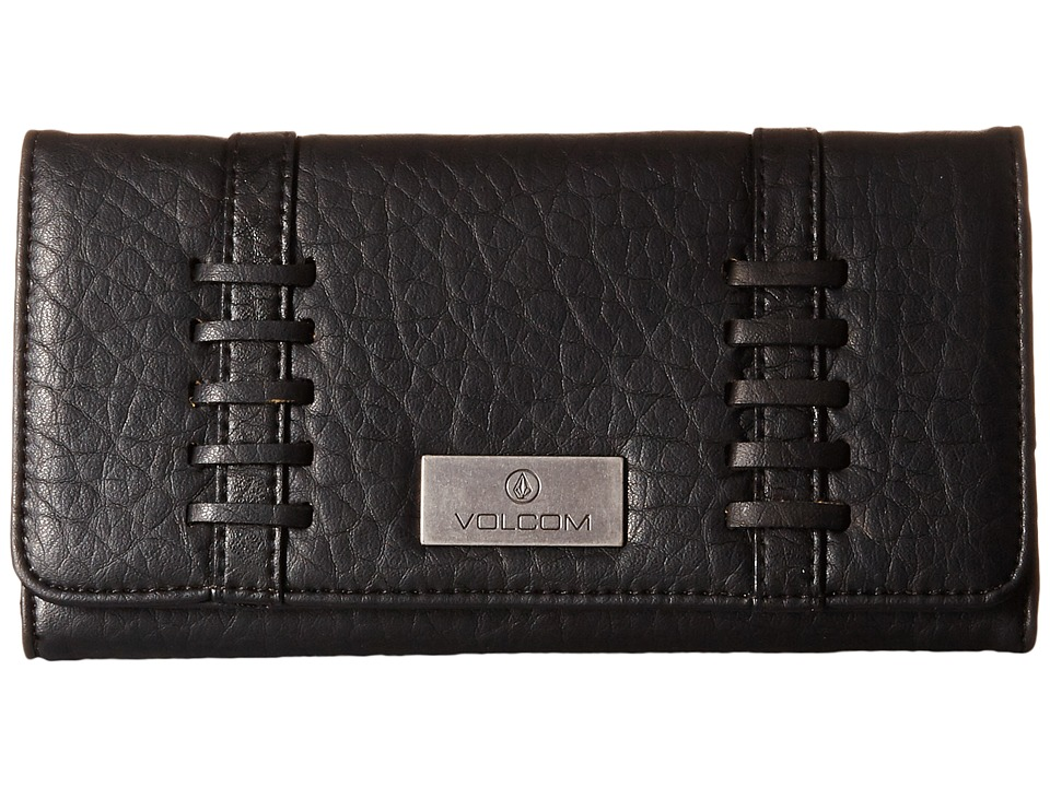 Volcom - Off Duty Wallet (Black) Wallet Handbags