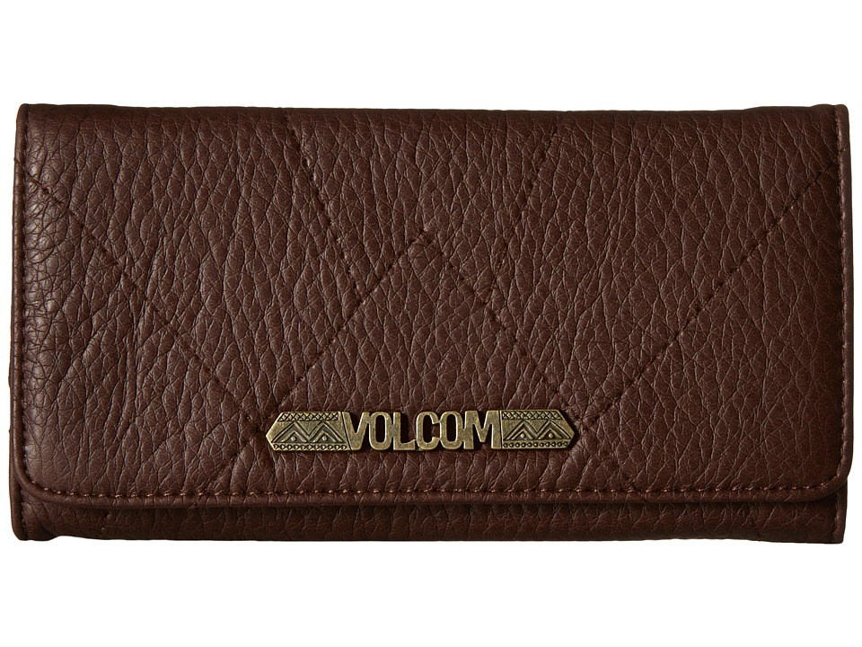 Volcom - Pinky Swear Wallet (Brown) Wallet Handbags