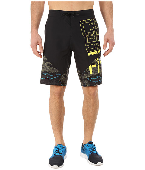 Reebok - Crossfit Cordura Shorts (Black) Men
