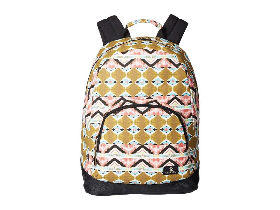 Volcom - Schoolyard Canvas Backpack (Army) Backpack Bags