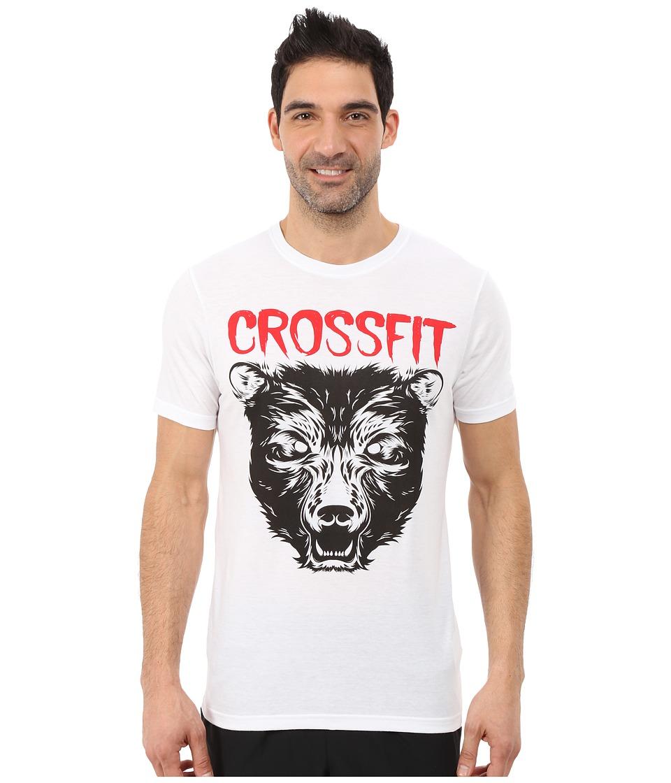 Reebok - Crossfit Graphic Tee (White) Men's T Shirt