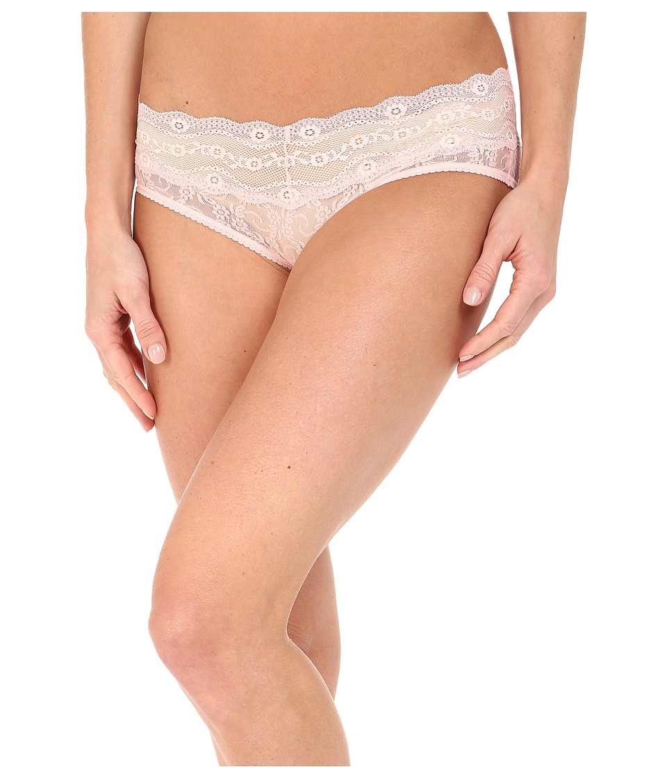 b.tempt'd - Lace Kiss Hipster (Crystal Rose) Women's Underwear
