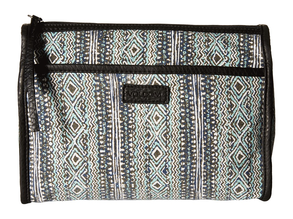 Volcom - Ciao Bella Pouch (Bleached Aqua) Travel Pouch