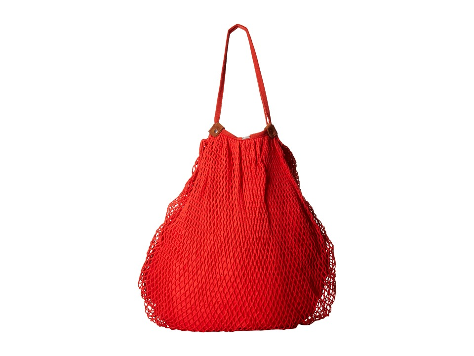 Volcom - Island Vibe Hobo (Fire Red) Hobo Handbags