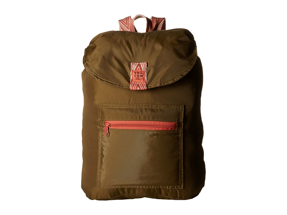 Volcom - Tread Lightly Ruck (Army) Bags