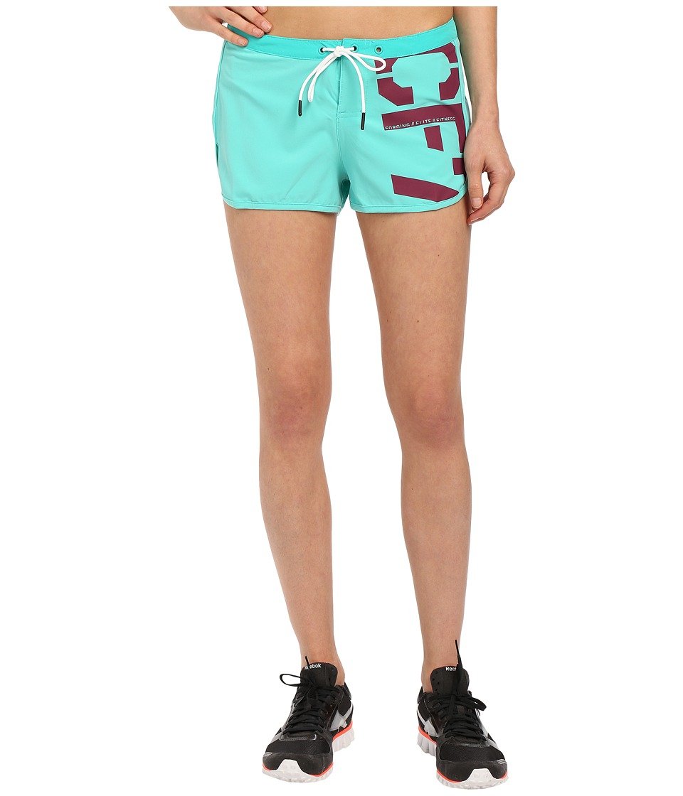 Reebok - Crossfit Recycled Training Shorts (Timeless Teal) Women's Shorts